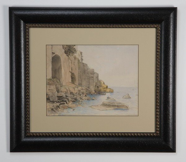 5: 19th c. pen and ink, signed Haseltine