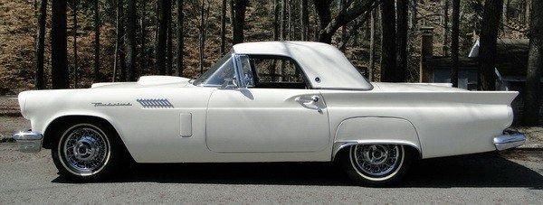 68: 1957 Thunderbird w/ hard top only