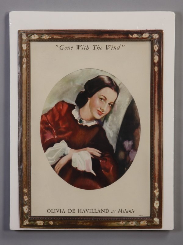 "13: Original ""Gone With the Wind"" movie standee"