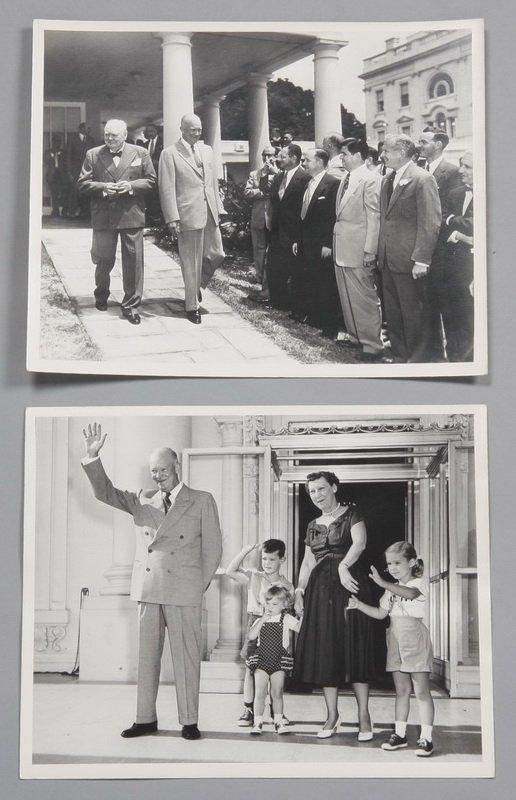 2: (7) Eisenhower White House photographs