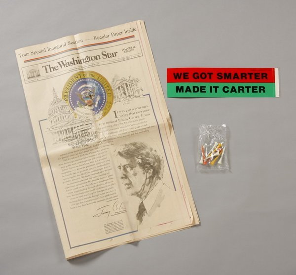 5: Pres. Carter campaign & inauguration mementos