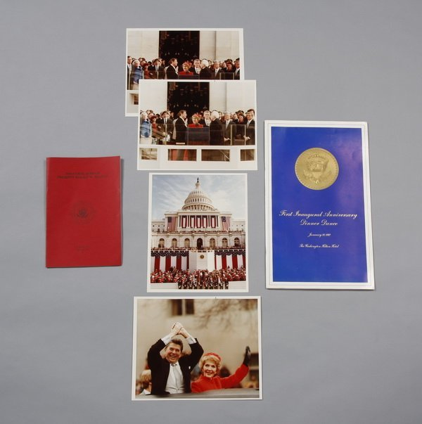 11: Reagan White House Inauguration memorabilia