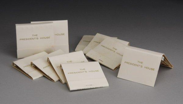 12: (10) Matchbooks - The President's House
