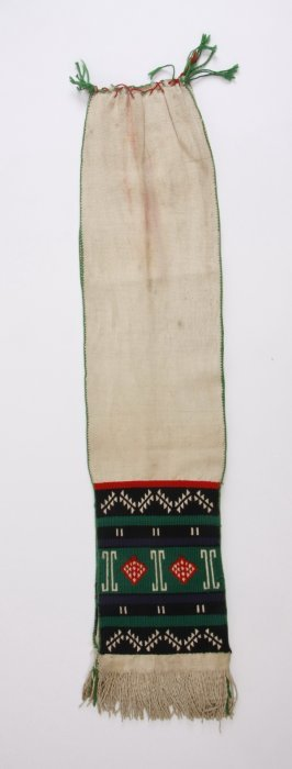 5: Early 20th c. Hopi hand embroidered sash