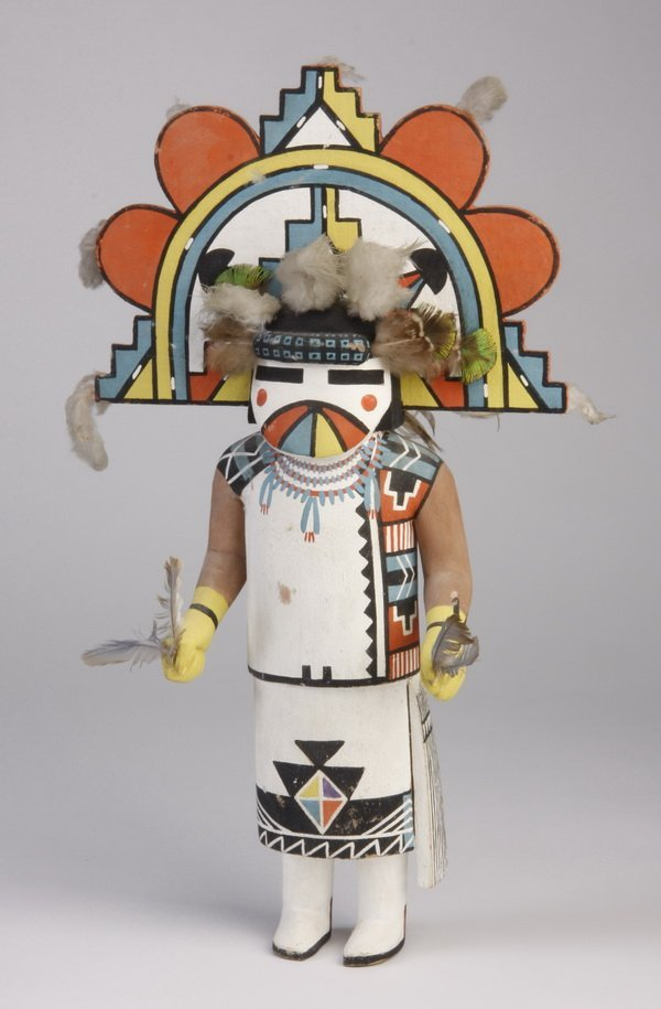9: Mid 20th c. Hopi Butterfly Maiden doll