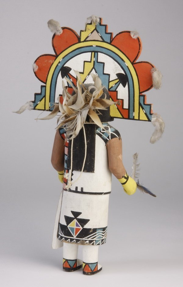 9: Mid 20th c. Hopi Butterfly Maiden doll - 2