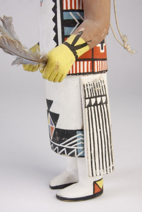 9: Mid 20th c. Hopi Butterfly Maiden doll - 4