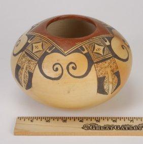 16: Hopi polychrome seed pot, Rachel Nampeyo