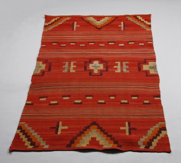 18: Mid 19th c. Navajo child's wearing blanket