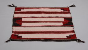 21: Navajo twill saddle blanket