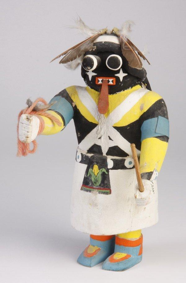 22: Mid 20th c. Hopi Soyok or ogre woman kachina