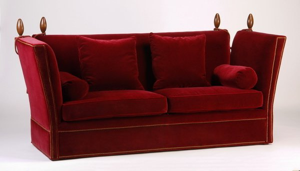 22: 20th c. Knole style sofa