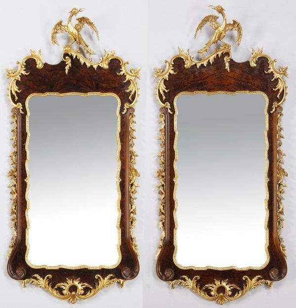 (2) La Barge gilt wood mirrors
