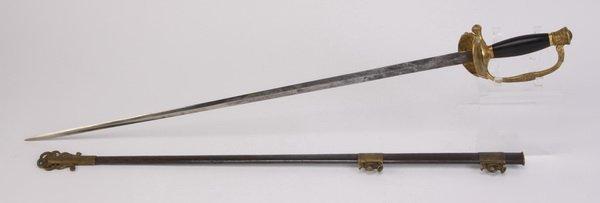U.S. Civil War period officer's sword