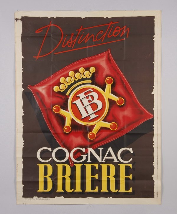 Original vintage unmounted French poster