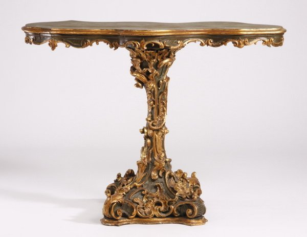 19th c. Venetian console table
