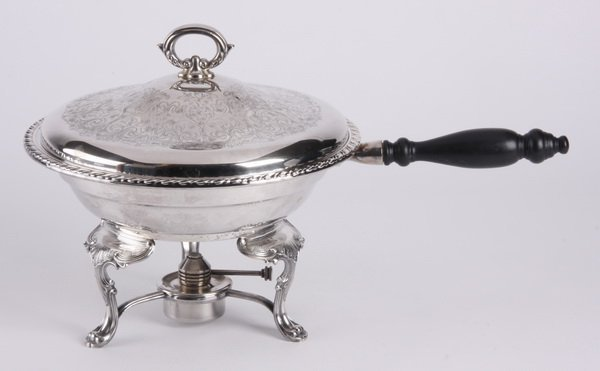 Wm. A. Rogers silver plated chafing dish