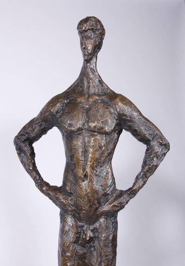 (2) Lifesize Tom Corbin bronze sculptures - 4