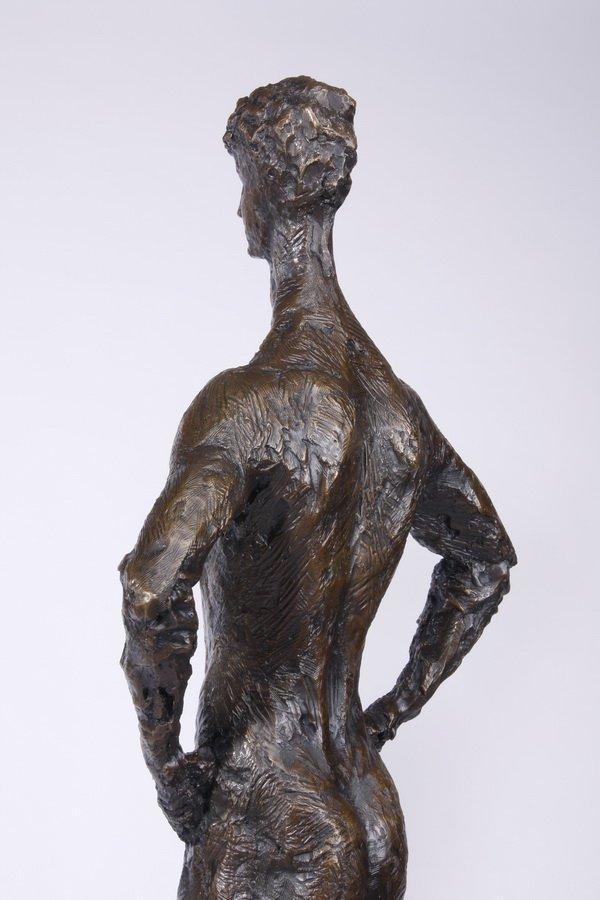 (2) Lifesize Tom Corbin bronze sculptures - 6