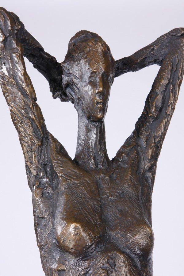 (2) Lifesize Tom Corbin bronze sculptures - 7