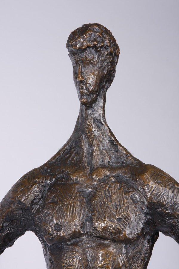 (2) Lifesize Tom Corbin bronze sculptures - 8