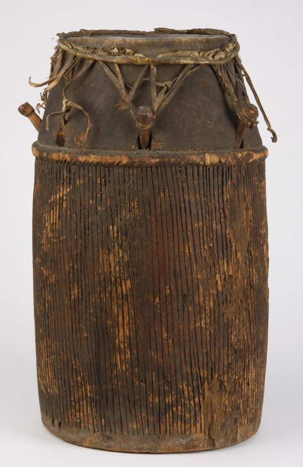 Baule drum, Ivory Coast