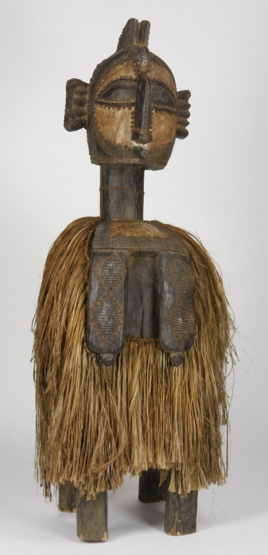 "70""h Nimba headress, Baga, Republic of Guinea"
