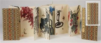 Mid 20th c. Chinese watercolor album