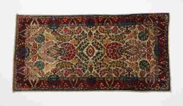 1940's Persian Kerman area rug