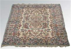 1940s Persian Kerman area rug