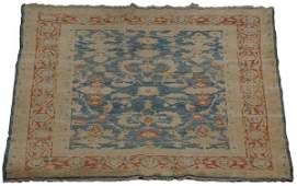 20th c. hand woven Indo-Persian wool rug
