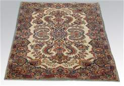 Early to mid 20th c Persian Kerman area rug