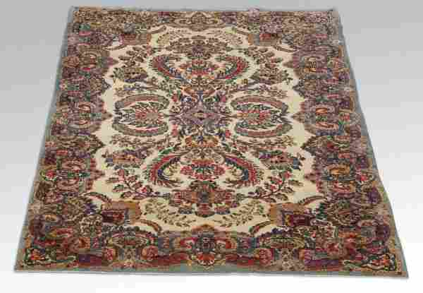 Early to mid 20th c. Persian Kerman area rug