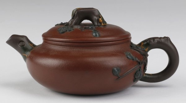 Early 20th c. Chinese Yixing zisha teapot