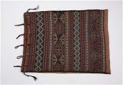 1930's Turkeman camel bag