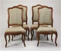 (4) French Provincial side chairs