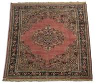 Hand knotted Turkish wool rug 7 x 10