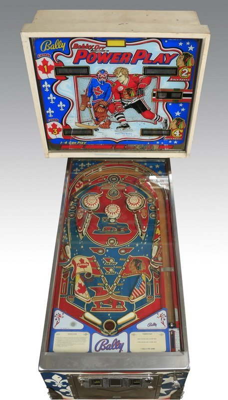 Bobby Orr hockey pinball machine, Bally, 1977 - 2