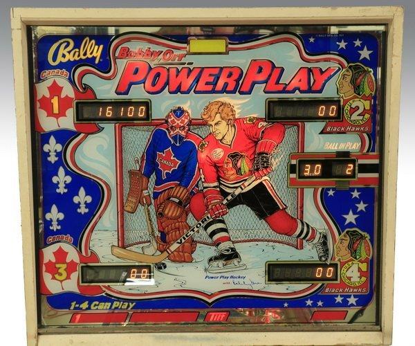 Bobby Orr hockey pinball machine, Bally, 1977 - 3