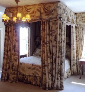 Custom Designed King Size Canopy Bed