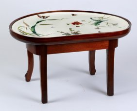 "Minton Faience Tray Table, 29""l"