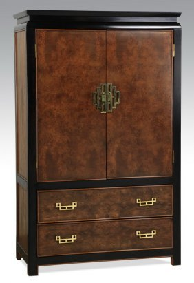 "Hollywood Regency 'chin Hua' Cabinet, 62""h"