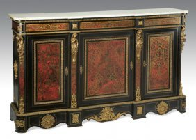 Napoleon Iii-style Boulle Inlaid Commode