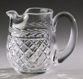 """Waterford Crystal Lismore Pitcher, 6""""h"""