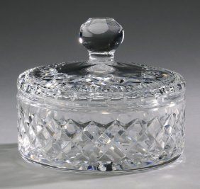 "Waterford Crystal Lismore Candy Dish, 6""dia."