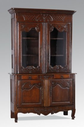 18th C. French Carved Buffet