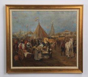 """European School O/c Dutch Fair, 38""""w"""