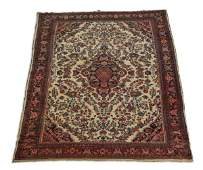 Hand knotted Persian wool rug 9 x 18