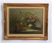 Edna Ferguson signed Oc floral still life