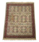 Hand knotted Turkish wool rug 8 x 11